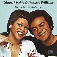 Johnny Mathis & Deniece Williams - That's What Friends Are For Vinyl LP