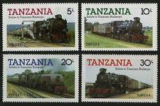 tanzania ca 1985 tanzanie train railroad locomotive 3022 zuge trenes treni 4v **