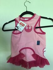 Star Wars Petco Pink Princess Leia Dog Dress Shirt New With Tags Sz X, XL, XXL