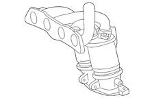 Genuine Toyota Exhaust Manifold 17104-22061