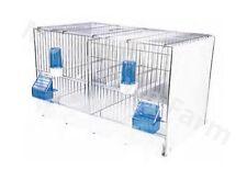 Jaula de cría de doble/Pequeño Jaula de Pájaro adecuado para pinzones, canarios, periquito, aves