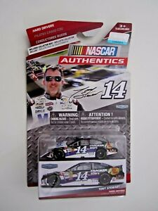 Tony Stewart  #14 Mobil 1 Tracker Boats Bass Pro Shops NASCAR AUTHENTICS  NIP!