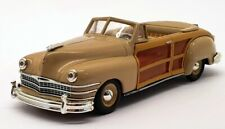 Matchbox 1/43 Scale DYG10-M - 1947 Chrysler Town & Country - Brown