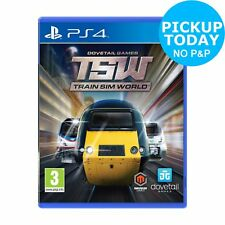 Train Sim World Sony Playstation PS4 Game.