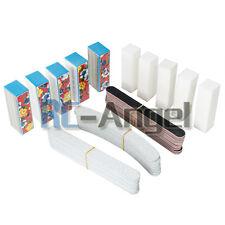 40PCS Nail Art Sanding Files Buffer Block Manicure Pedicure Tools UV Gel Set Hot
