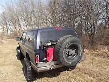 Jeep XJ Cherokee Rear Expedition Tire Carrier Bumper