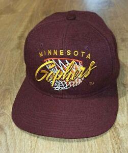 Minnesota  Gophers NCAA Vintage Snapback Hat Cap -