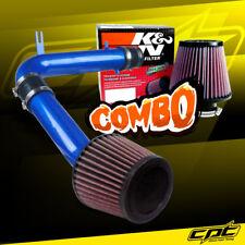 98-02 Honda Accord 3.0L V6 Blue Cold Air Intake + K&N Air Filter