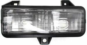 Parking Light For 92-95 Chevrolet G20 89-91 Blazer Driver Side