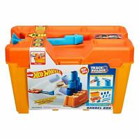 Hot Wheels Track Builder Barrel Box With Built In Car Launcher In Lid