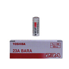 Toshiba A23 Battery 12Volt 23AE 21/23 GP23 23A 23GA MN21 12v (Pack of 50) Bulk