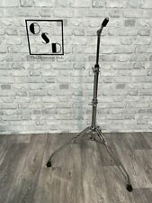 More details for vintage premier straight drum cymbal stand double braced / hardware #st084