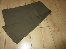 Écharpe tube LW ww2 WKI WKII kopfschützer écharpe marron scarf WH uniforme