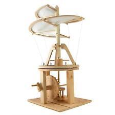 Pathfinders Leonardo da Vinci Aerial Screw Helicopter Working Wood Model Kit