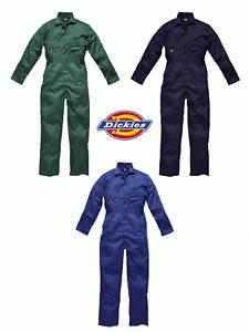 Dickies Redhawk Workwear WD4829 Stud Front Coverall Long Sleeve Boilersuit
