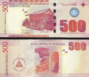 Nicaragua : 500 Cordobas (2007) P-200 UNC