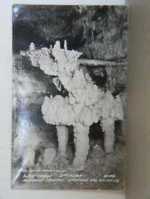 WINE TABLE - 5th FLOOR MERAMEC CAVERNS, STANTON, MO - MID 1900'S PHOTO POST CARD