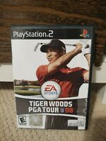 PS2 Tiger Woods PGA Tour 08 (Sony Playstation 2) CIB, Tested