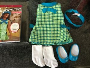 American girl doll Melody meet outfit and book