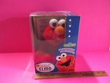 "Sesame Street 9""in Plush Elmo who Doubles as a Tv Remote Control ""No Kidding""!"