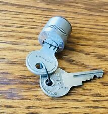 1920s 1930s IGNITION LOCK w/YALE KEYS vtg early antique switch