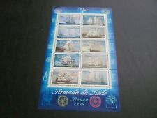 France 1999 Sc# 2736 Ships Souvenir Sheet Mnh