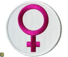 "Female Symbol Girl Power Girl Women Woman 3"" Iron On Patch Free Shipping P5456"