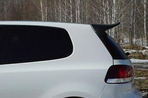 Rear Roof Duck Spoiler Wing for Volkswagen Golf 6 MK6 GTi R32 2008-2013