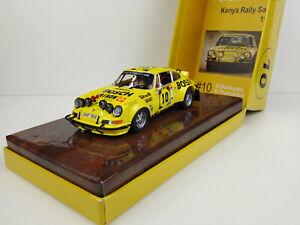 Slot Car Scalextric Fly E2002 Porsche 911RS #10 - Kenya Rally Safari 1973