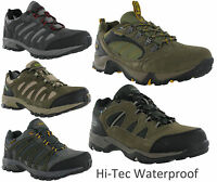 Hi-tec Waterproof Leather Low Walking Hiking Trail Trainers Shoes Mens UK7-16