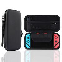 Tasche Für Nintendo Switch Zbehör Hülle Hartschale Schutz Case in Schwarz