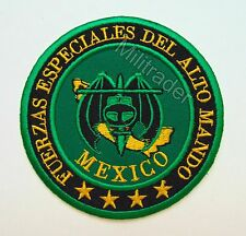 Mexico Mexican Army Special Forces High Command (Alto Mando) Patch (GRN)