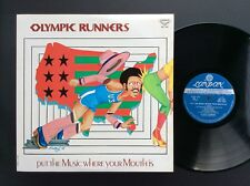 Olympic Runners - Put The Music Where Your Mouth Is - ExVg - JAPAN 1974 - RARE!!