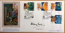 Benham 27.9.1994 Medical Discoveries FDC signed Dr. HILARY JONES, Television Dr.