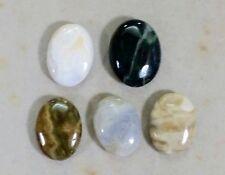 Natural OCEAN JASPER oval bead / strand 14mm(w) x 19mm(l) - 5 beads