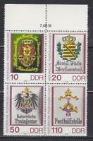 DDR474 - EAST GERMANY DDR 1990 POST WORKERS DAY  BLOCK MNH