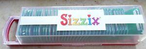 Sizzix Stanzschablonen Buchstaben und Zahlen vollständig