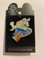 DLR Buzz Light-Year Astro Blasters Blast Off 2005 Toy Story  LE Disney Pin (B)