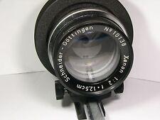 Xenon 2/12.5cm #10138 Schneider-Gotlinger lens with Canon EOS bayonet