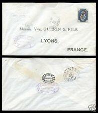 1903 年 俄國在華客郵 上海寄法國里昂 實寄封  Russian Offices Cover: Lyons