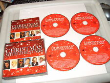 CHRISTMAS WITH THE STARS -READERS DIGEST 4 CD -75 TRACKS -2007 Ex Condition