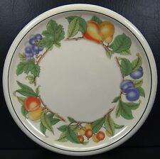 Epoch Wholesome Chop Plate Platter Fruit Grapes Peaches Pears Plums Cherries
