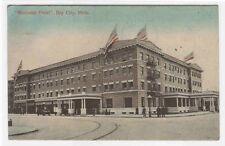 Wenonah Hotel Bay City Michigan 1909 postcard