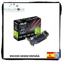 TARJETA GRAFICA ASUS GeForce GT 610 1GB DDR3 SIN VENTILADOR NVIDIA PCI EXPRESS