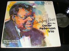 SWINGING BRASS With The Oscar Peterson Trio RUSS GARCIA Verve Stereo Original LP