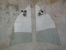 Porsche 356 B Rear Vent Window Glass (Left & Right) For KARMANN Hardtop