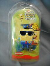 SPONGEBOB SQUAREPANTS DIGITAL READ OUT WRISTWATCH 2004 POLICE PIRATE