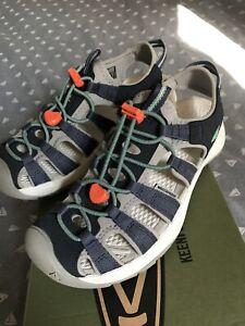 Keen Astoria West Sandal Womens Sandals - Navy Beveled Glass, Size 5, Worn Once.