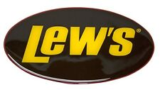 """Lew's Lews 3-D Decal 5-1/4"""" X 3"""" NEW Free Domestic Shipping"""