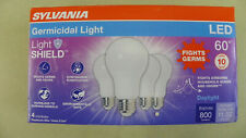 Germicidal LED Light Dimmable 60w Uses 8.5w (4 Pk)